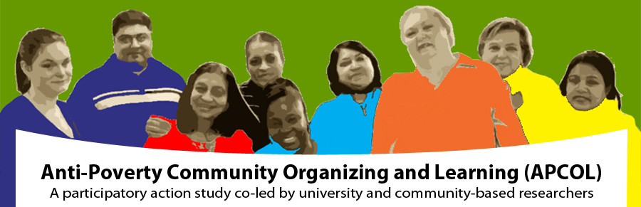 Anti-Poverty Community Organizing and Learning (APCOL)
