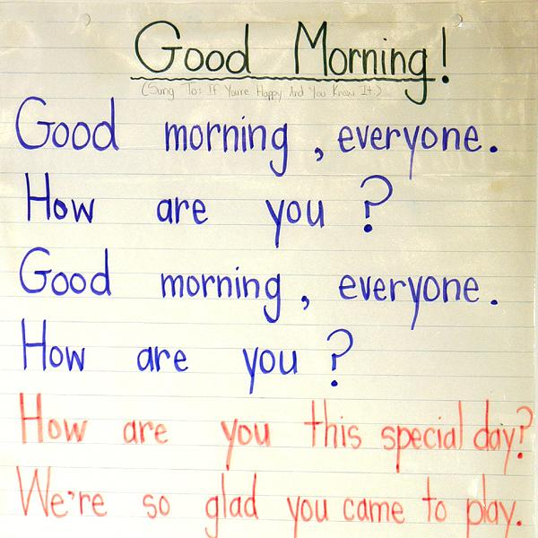 Good Morning Everyone Gee Cover : Balancedliteracydiet index balanced literacy diet