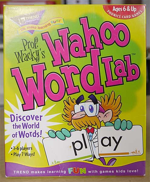 word anaysis games