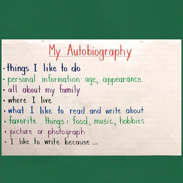 form poetry in autobiography student