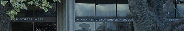 Ontario Institute for Studies in Education of the University of Toronto