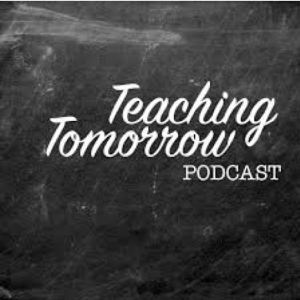 Teaching tomorrow podcast logo
