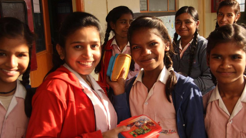 Image of girls at Prerna