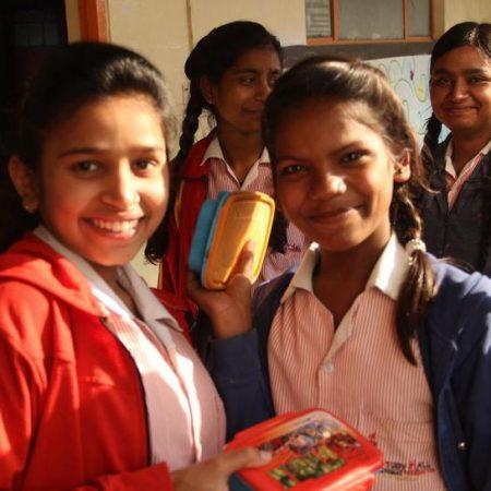 Image of girls at Prerna