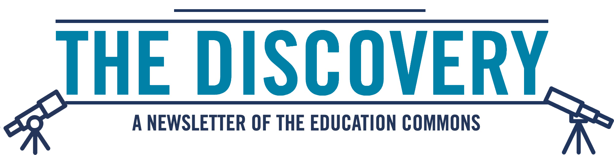The Discovery. A Newslatter of the Education Commons