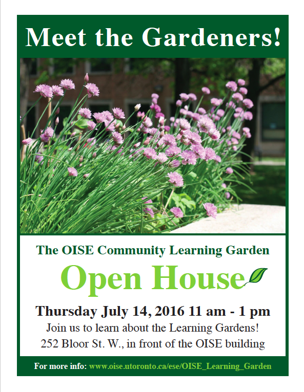 Come on out to this season's Open House!