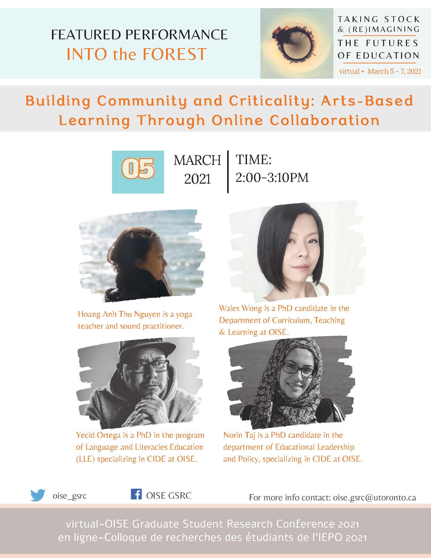 Building Community Presentation Poster