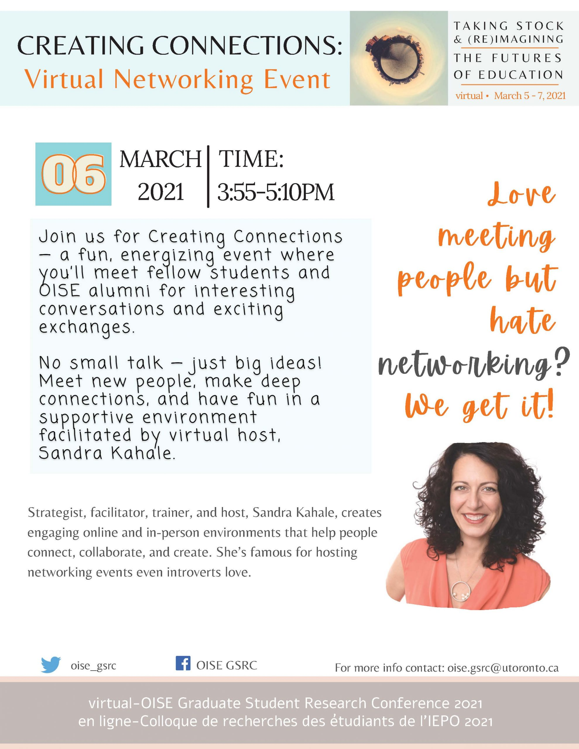 Networking Event Poster