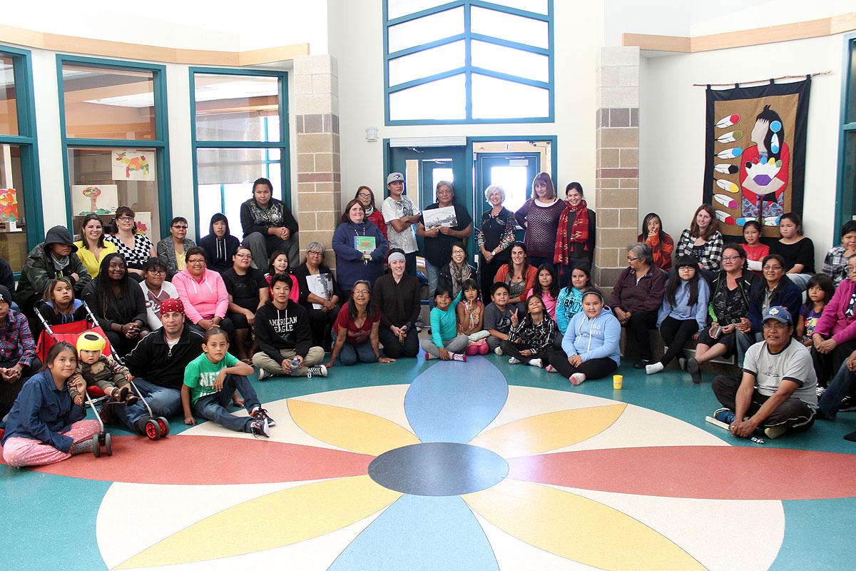 Lac La Croix School and Robertson Team members