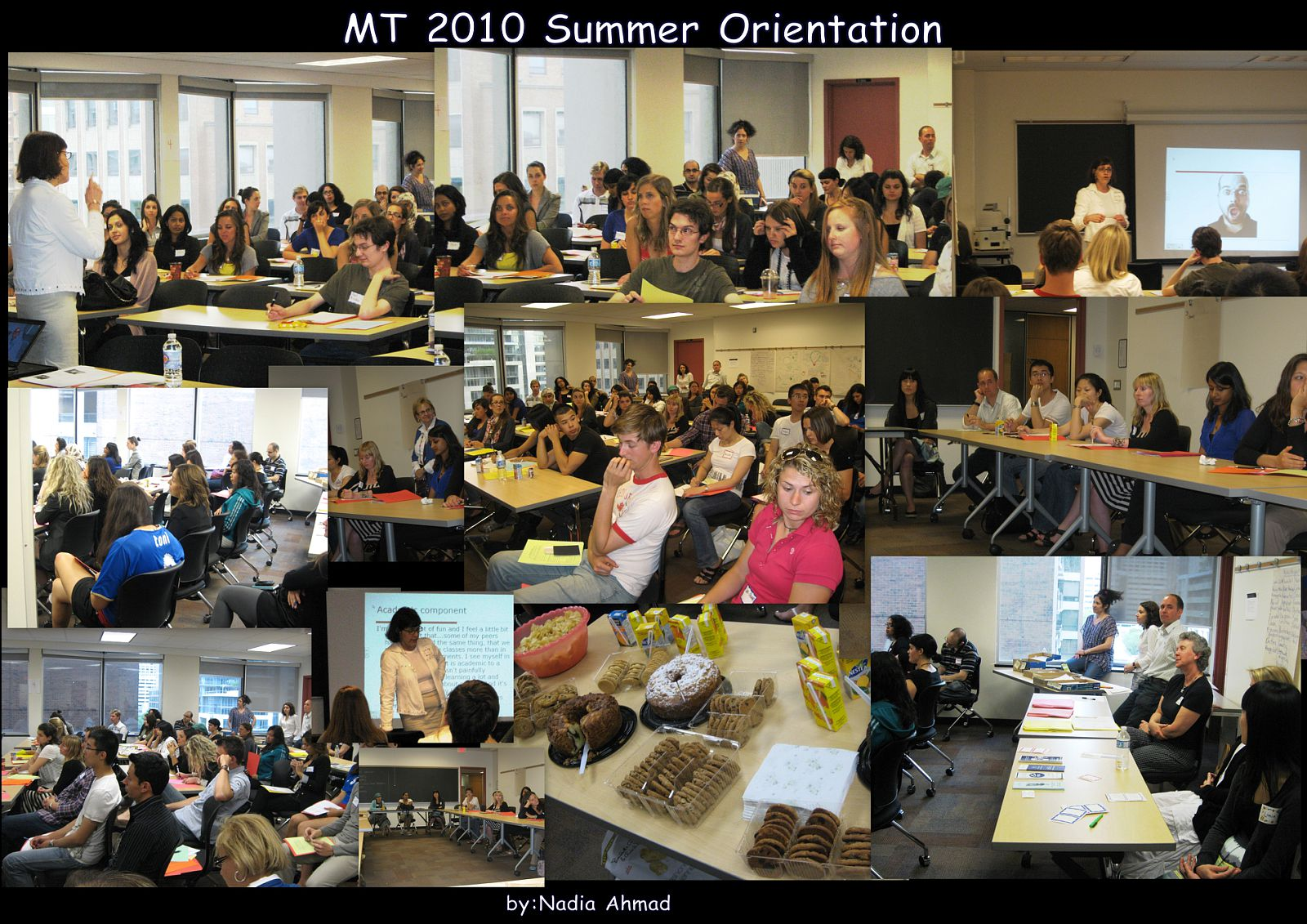 MT Summer Orientation