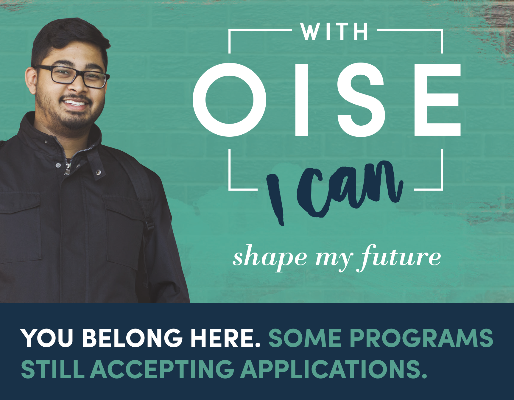 Some programs are still accepting applications. Apply today!