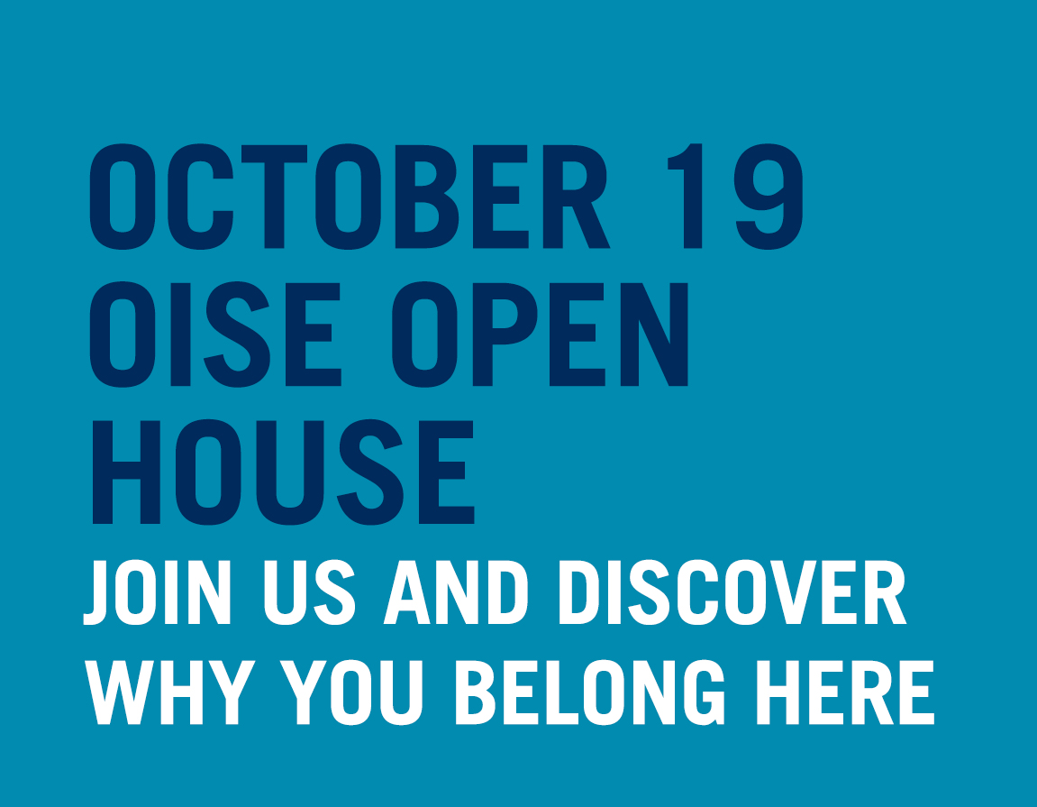 Join us on October 19 for our Open House. Learn about your programs and find out why you belong here.