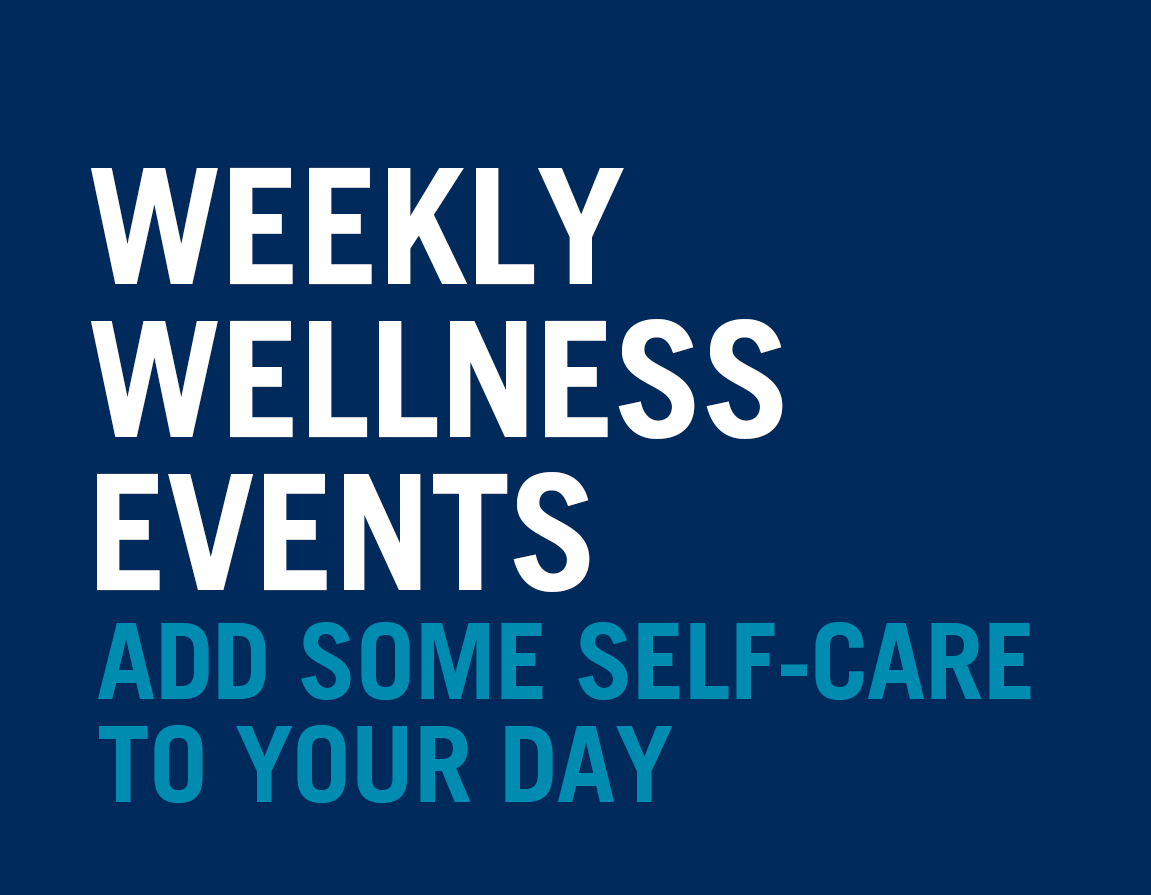 OISE holds a range of wellness events each week. Add some self-care to your day. Learn more.