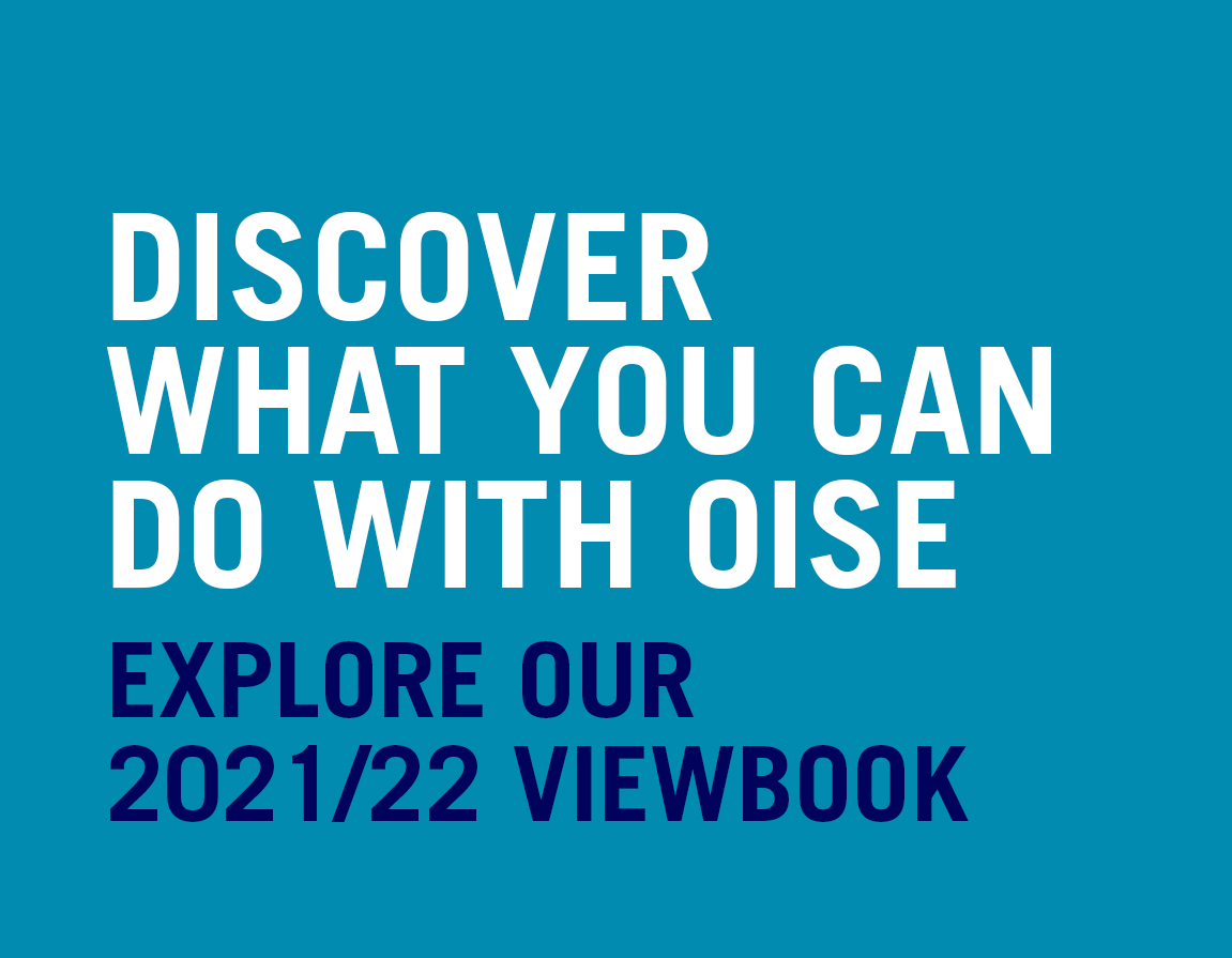Find out what you can do with a degree from OISE. Check out our 2021 viewbook!