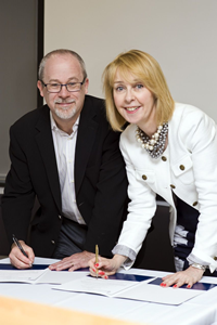 Deans Halperin and O'Sullivan sign historic MOU