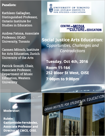 OISE Social Justice Ed Event